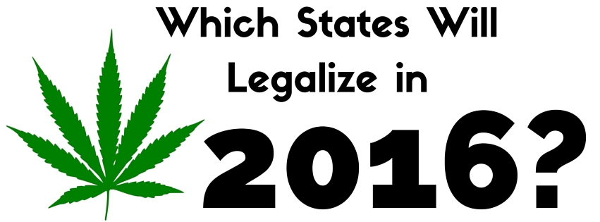Which States Will Legalize in 2016-