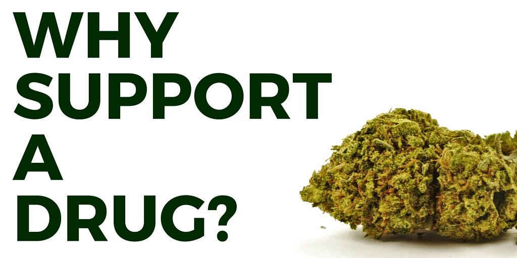Why support a drug-